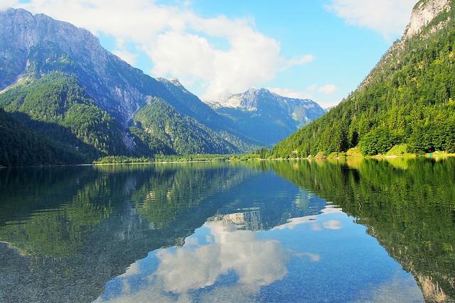 Triglavský National Park, Slovenia, Lake, Nature
