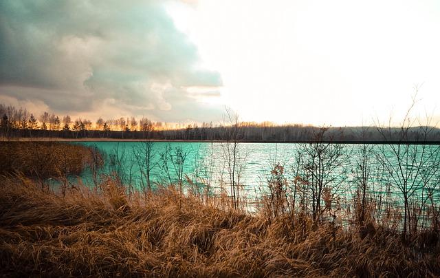 Sunset, Water, Lake, Nature, Evening, Twilight