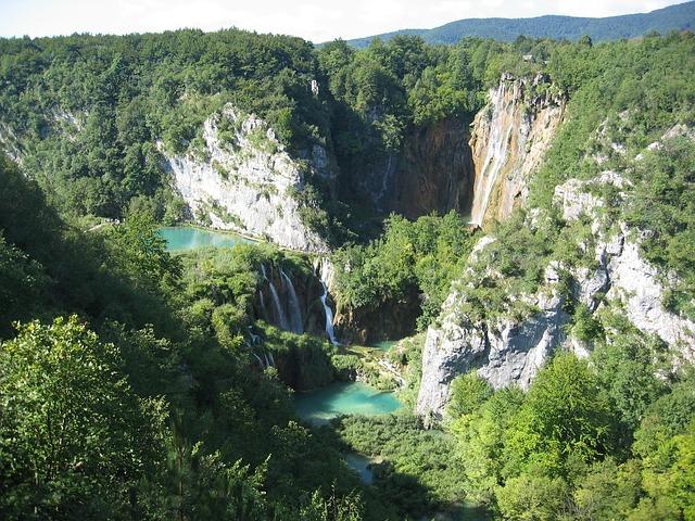 Plitwitz, Plitvice Lakes, Croatia, Waterfall, Lake