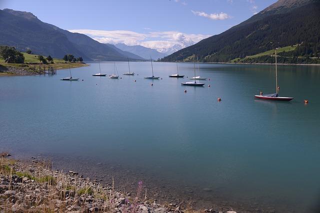 Lake Resia, Val Venosta, Lake