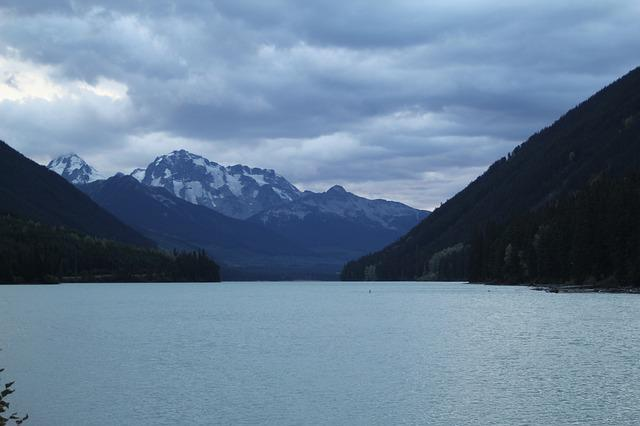Sea To Sky Highway, Water, River, Lake, Landscape
