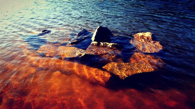 Rio, River, Pond, Lake, Water, Nature, Sunset