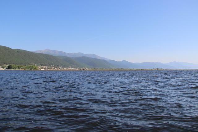 Baikal, Lake, Haze, Nature, Water, Tranquility, Sky