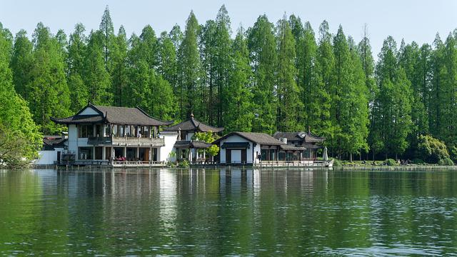 Lake, Waters, Wood, Nature, Tree, Ching Ming Festival