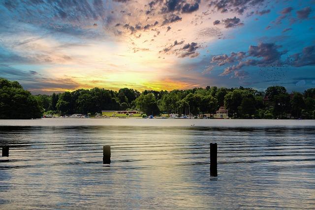 Lake, Stadtsee, Templin, Uckermark, Landscape, Nature