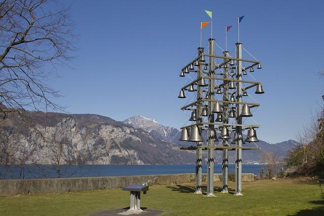 Bells, Glockenspiel, Lake, View, Metal, Ring, Tourism