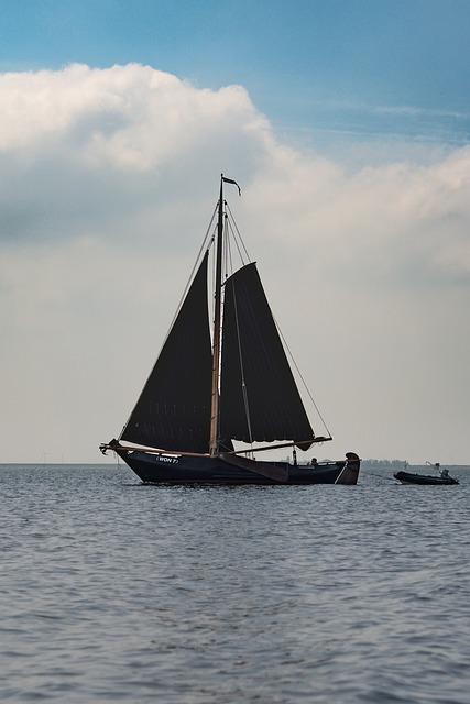 Sailing Boat, Lake, Seascape, Sails, Boat, Water