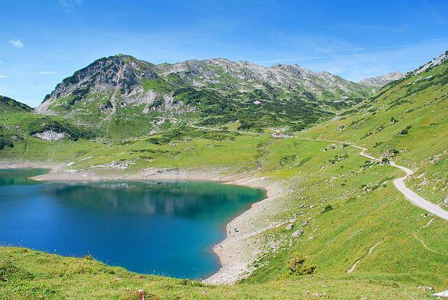 Formarinsee, Lake, Water, Mountains, Austria