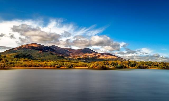 Landscape, Lake, Ireland, Nature, Water, Summer, Sky
