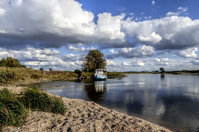 Waters, Nature, Sky, Landscape, Lake, Clouds