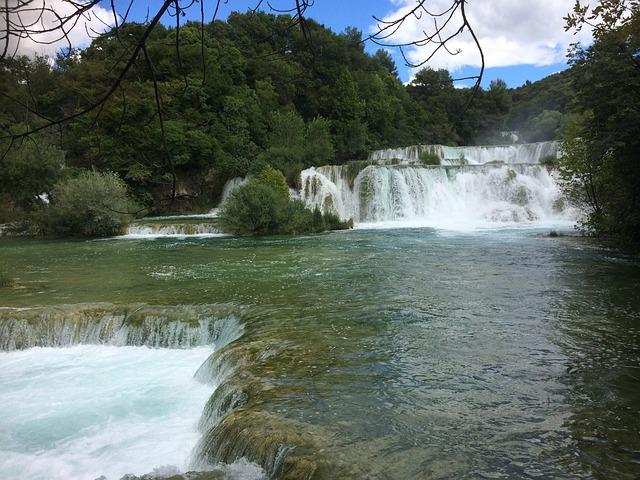 Waterfall, Croatia, Lakes, Nature, Water, River