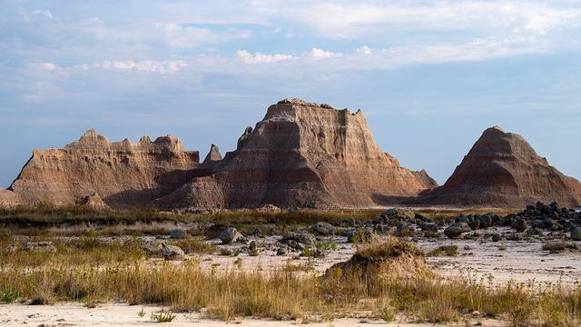 Badlands National Park, South Dakota, Usa, Lakota