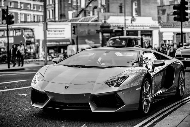 Lamborghini Aventador, Lamborghini, Supercar, Modern