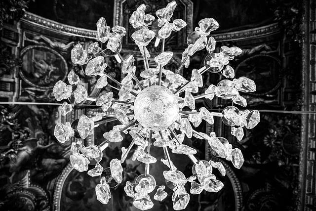 Chandelier, Light, Interior, Design, Lamp, Luxury