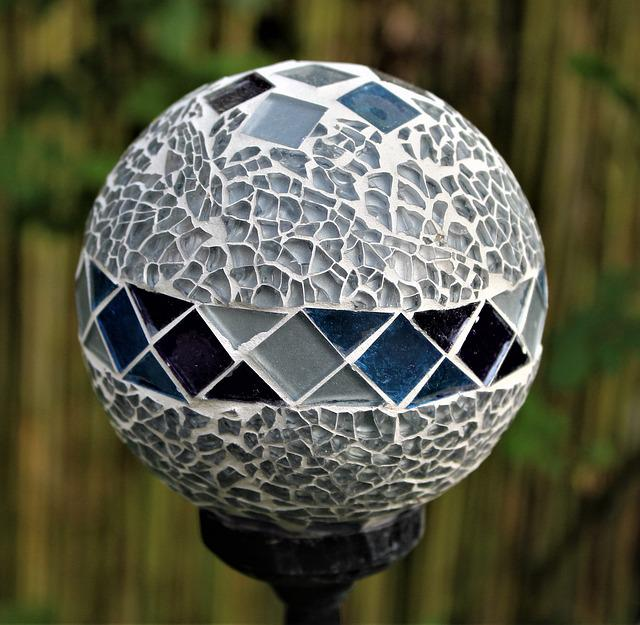 Ball, Glass, Lamp, Pattern, Glass Ball, About, Colorful