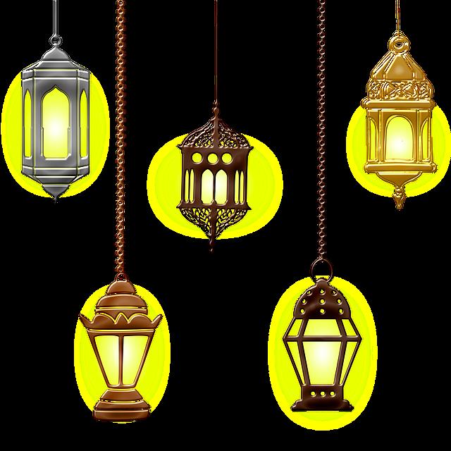 Islamic Lamps, Lights, Hanging Lamp, Islam, Lamp