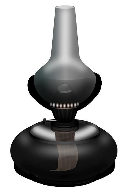 Lamp, Light, Oil, Kerosene Lamp, Paraffin Lamp