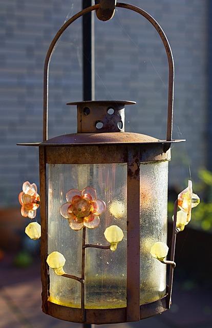 Lamp, Outdoor, Light, Decoration, Design, Lantern