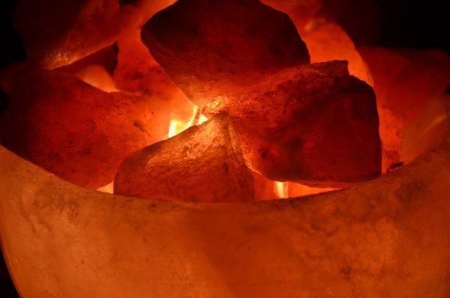 Lamp, Pink Salt, Himalayas