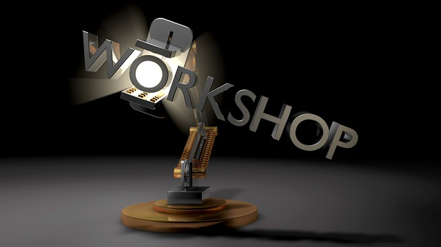 Workshop, Virtual Reality, Light, Lamp, Robot