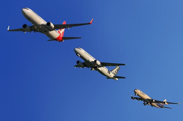 Aircraft, Qantas, Air New Zealand, Lan Chile