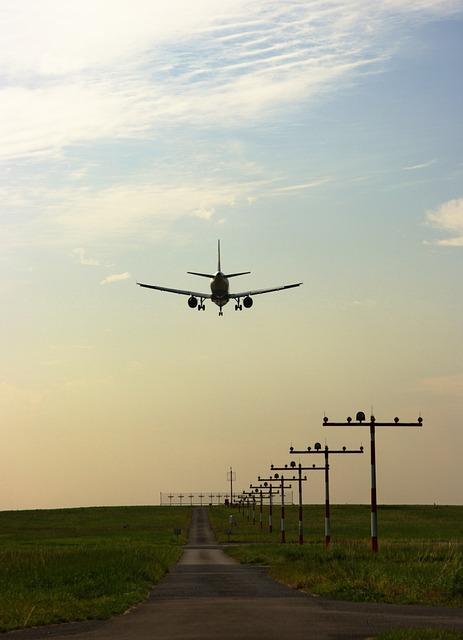 Aircraft, Landing, Airport, Fly, Travel, Approach, Port