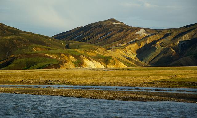 Iceland, Landmannalaugar, Ford, Volcanism, Trekking