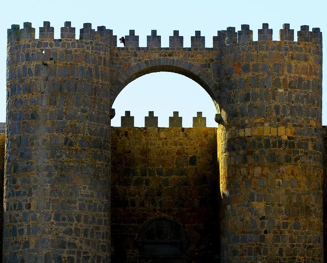 Avila, Spain, Fortress, Architecture, Landmark