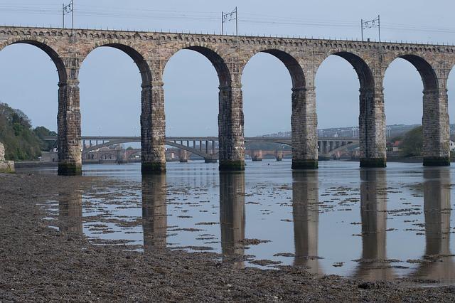 Reflections, Bridge, Landmark