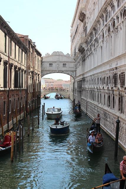 Venice, Architecture, Tourism, Landmark, Canal, Gondola