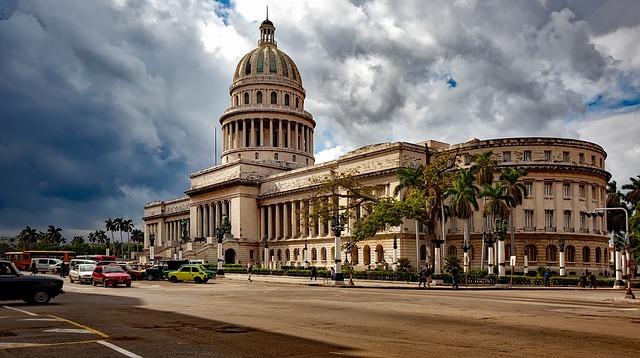 Havana, Cuba, Capitol Building, Architecture, Landmark