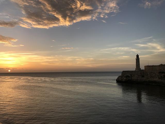 Cuba, Havana, Harbor, Landmark, Architecture, Historic
