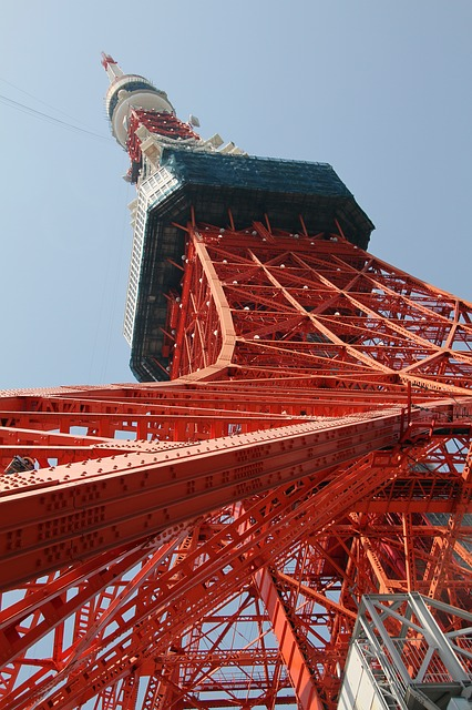 Tokyo Tower, Landmark, Japan, Architecture, Attraction