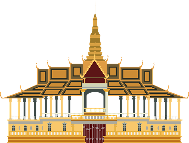 Asia, Cambodia, King, Landmark, Palace, Phnom Penh
