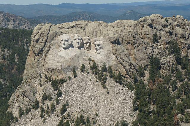 Usa, Rushmore, Landmark