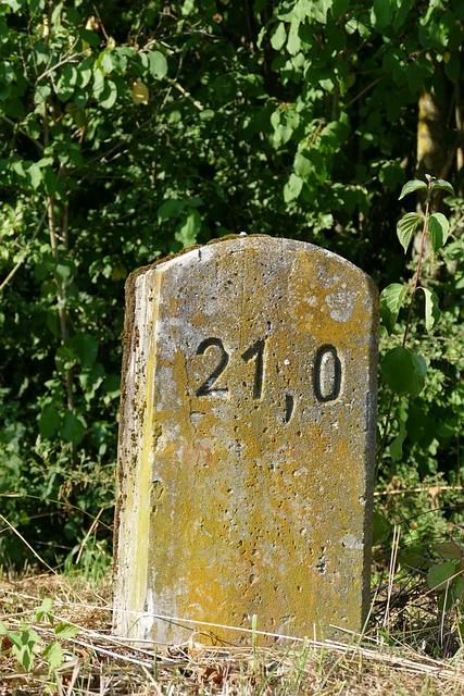 Milestone, Landmark, Wall Stone, Mark, Stone, Signpost
