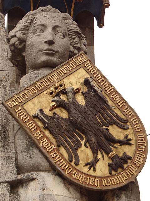 Bremen, Roland, Statue, Landmark, Coat Of Arms