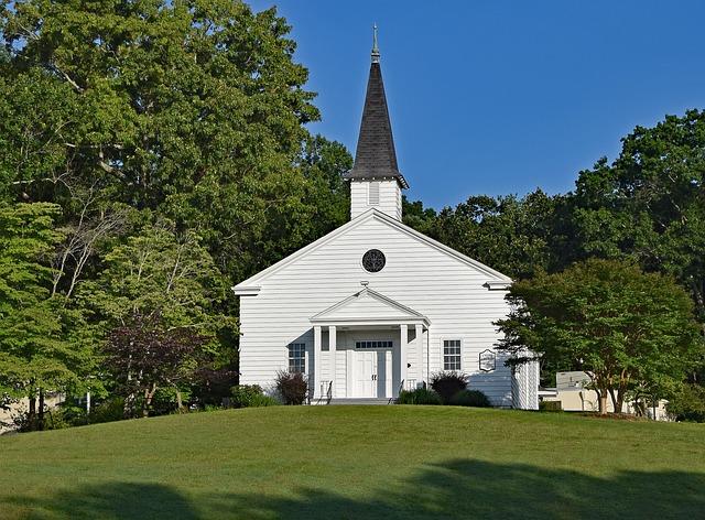 Country Church, Landmark, United Church, Oak Ridge
