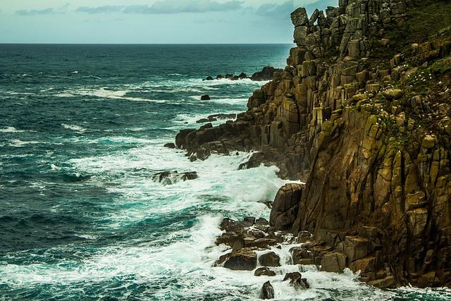 Land's End, Cornwall, Ocean
