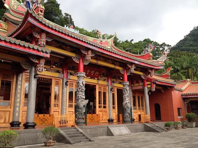 Taiwan, 廟-woo, Landscape, Custom, Faith