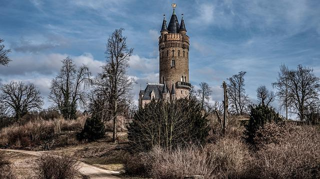 Sky, Architecture, Tower, Old, Landscape, Babelsberg