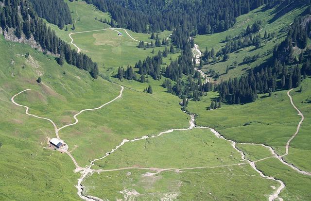 Alpine, Austria, Valley, Landscape, Nature