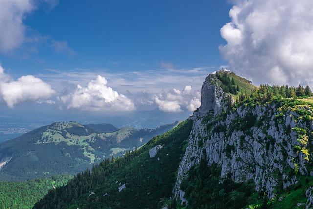 Landscape, Sky, Clouds, Mountains, Bavaria