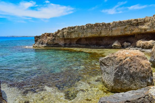 Rock, Rocky Coast, Beach, Sea, Shore, Cliff, Landscape