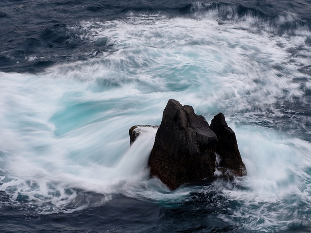 Sea, Waves, Water, Nature, Beach, Landscape, Rock