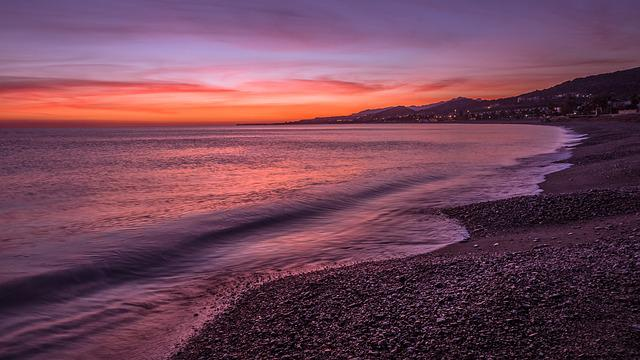 Nature, Sand, Beach, Dawn, Sea, Italy, Waves, Landscape