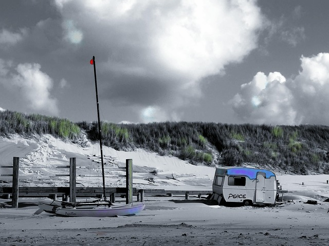 Beach, Sand, North Sea, Holiday, Travel, Landscape