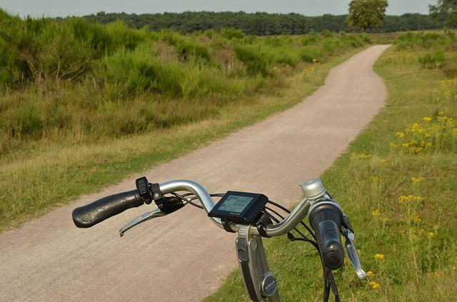 Send, Bicycle, Path, Bike Path, Landscape, Nature