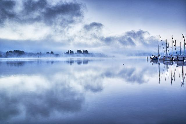Blue, Lake, Lake Constance, Nature, Water, Landscape