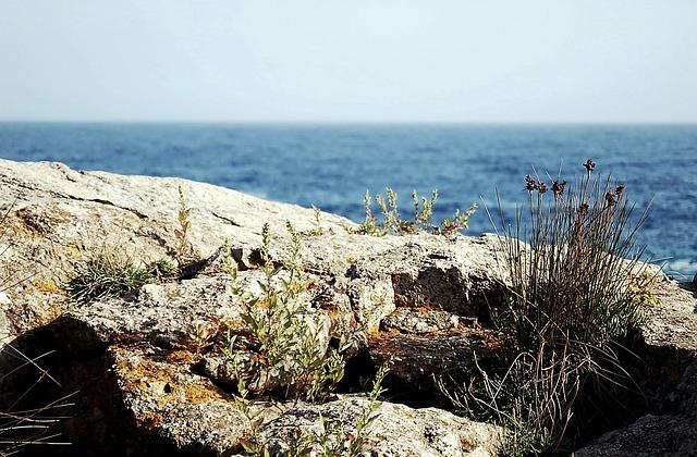 Sea, Mediterranean Sea, Nature, Landscape, Blue, House